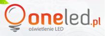One LED
